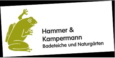 Logo: Hammer & Kampermann, Badeteiche und Naturgärten